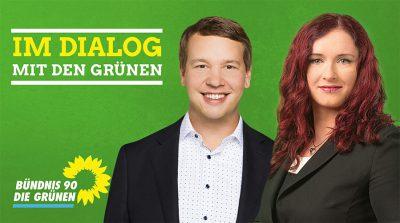 Im Dialog mit den Grünen Agnieszka Brugger MdB & Oliver Hildenbrand @ KULTURWerk