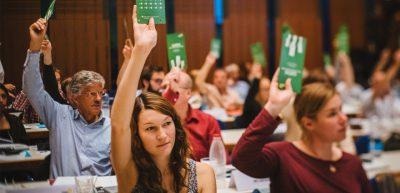 Parteitag – Landesdelegiertenkonferenz in Heilbronn @ INTERSPORT redblue