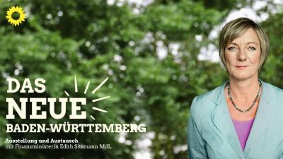 Das neue Baden-Württemberg mit Edith Sitzmann @ Bobingen