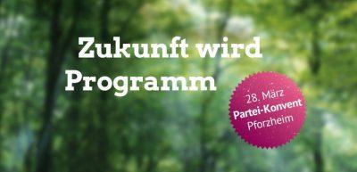 Abgesagt! Partei-Konvent - Zukunft wird Programm @ CongressCentrum Pforzheim